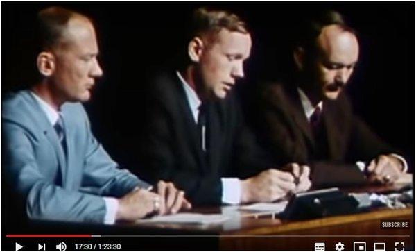 конференция экипажа Аполлон-11