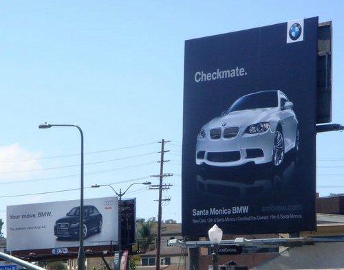 реклама ауди и мерседес